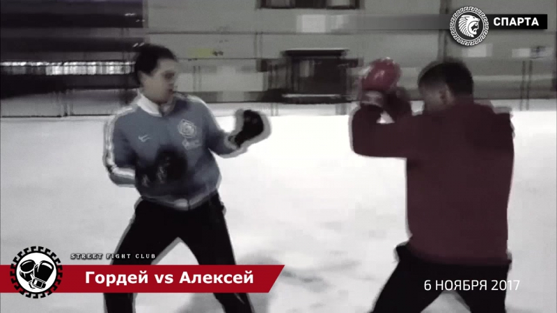 СПАРТА | Street Fight Club -Гордей vs Алексей (6 ноября 2017)