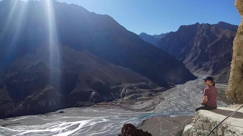 Данкар. Вид на долину реки Спити