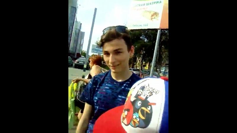 мы шли по улице и встретили Брайна мапс (Максим Тарасенко)