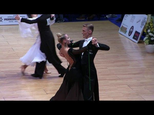 Dominykas Granskas Helene Spilling, Quickstep, Amber Couple 2018