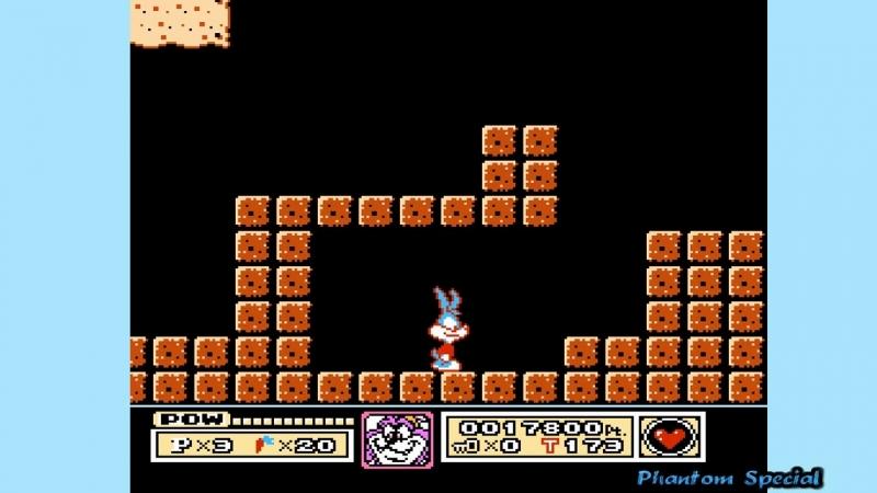 Tiny Toon Adventures(Gameplay DENDY)