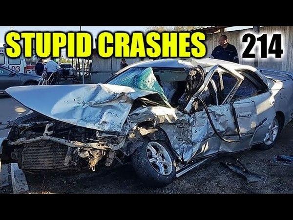 Stupid driving mistakes 214 (May 2018 English subtitles)