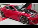 Mazda RX-8 GTX3076R Dyno by AutoVeltiosis