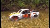 Traxxas UDR Water Wading at the Creek