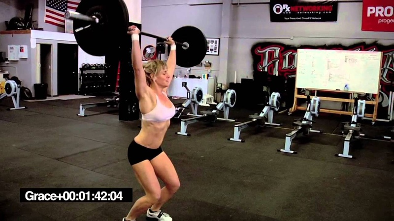 CrossFit Karianne Dickson does Grace