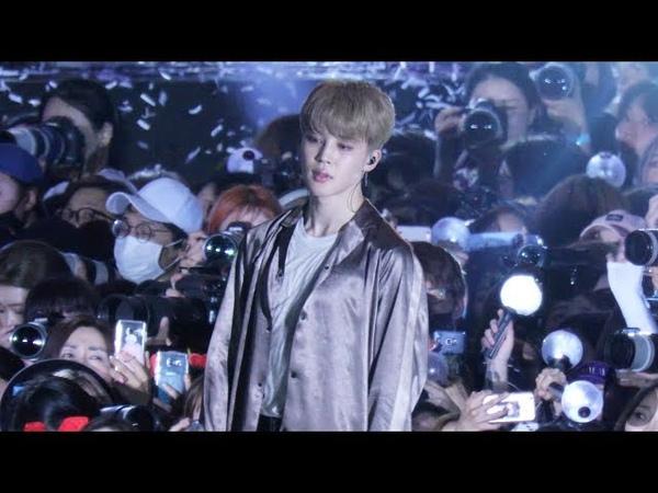 180622 방탄소년단(BTS) - 봄날(Spring Day) 지민 직캠 (Jimin Focus) [롯데패밀리콘서트] 4K 직캠 by 비몽
