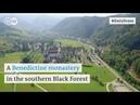DailyDrone St. Trudpert 2016 - Аббатство Святого Трудперта, коммуна Durbach, горный массив Schwarzwald, Баден-Вюртемберг