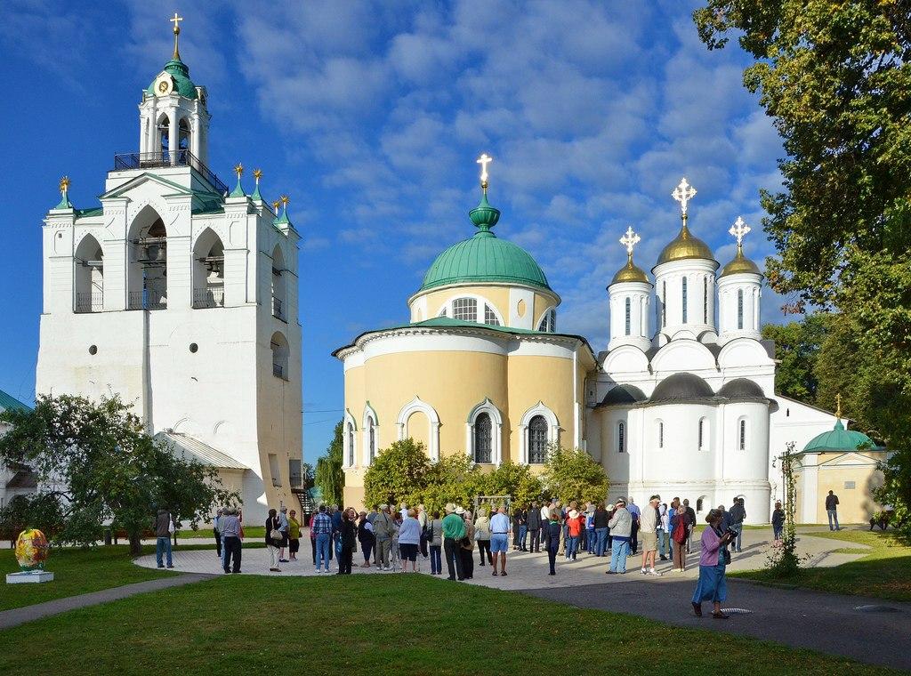 oPi0PDgom5U Спасо-Преображенский монастырь в Ярославле.