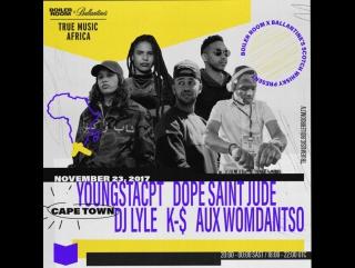 Boiler Room x Ballantine's True Music Africa: Кейптаун