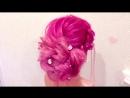 ★Быстрая прическа из резиночек ★ Прическа на ровные волосы★ QUICK AND EASY HAIRS