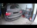 BMW X5 E53 4.8 удален резонатор