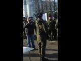 Військова присяга,на вірність Українському народові!