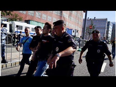 ♐После митинга против пенсионной реформы в Москве задержаны его организаторы - Большие новости♐