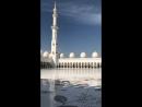Белая мечеть в Абу Даби, 14.12.2017