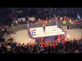 AJ Styles asks the crowd whether they like the Universal or WWE Championship better (HD)