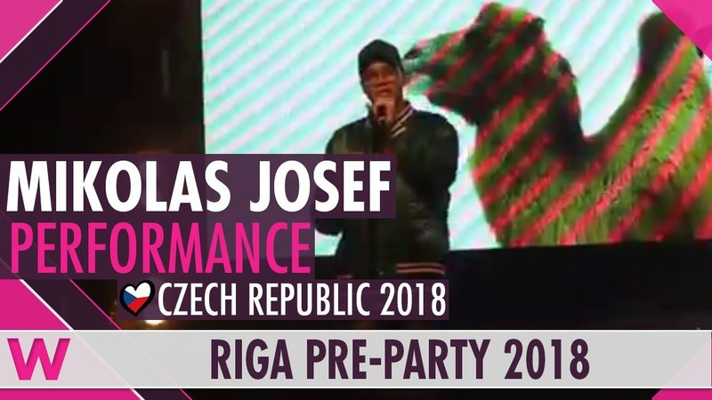 Mikolas Josef Lie to Me (Czech Republic 2018) LIVE @ Eurovision Pre-Party Riga 2018