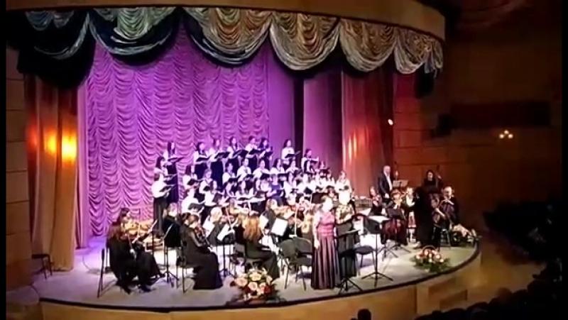 Выступление з.д.и. РК Ольги Сердюковой и з.а.РК Анны Очкаевой в Махачкале