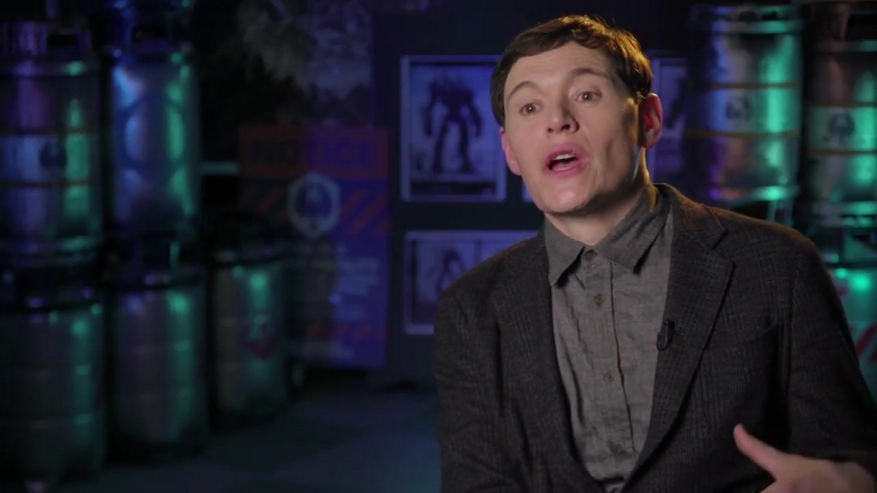 Pacific Rim Uprising (Universal Pictures) Burn Gorman