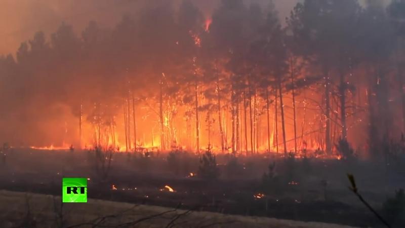 Пожар у Чернобыльской АЭС удалось локализовать