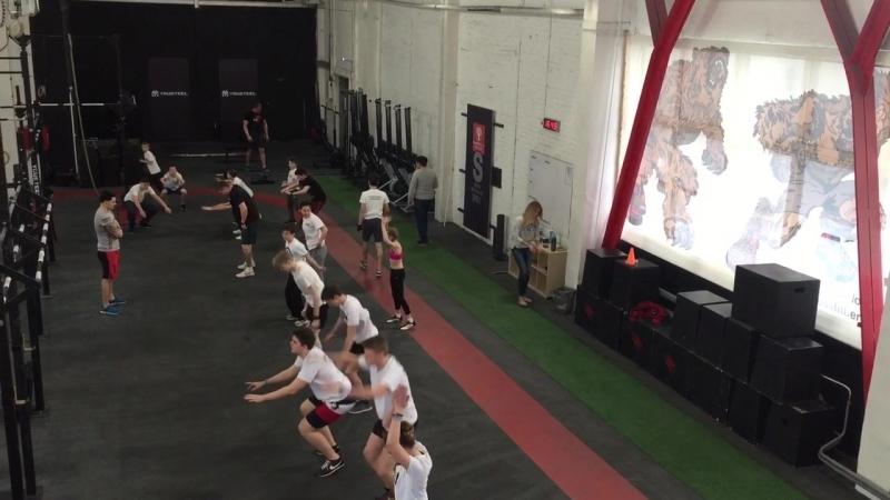 Тренировка TKD TEENS в CrossFit Berloga