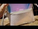 Luxy Луна мода Лазерная рюкзак Для женщин Многофункциональный рюкзаки для девочек подростков молния рюкзак блеск школьная сумка