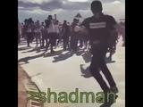 Shadman dancing to lone digger