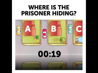 Where is a prisoner?