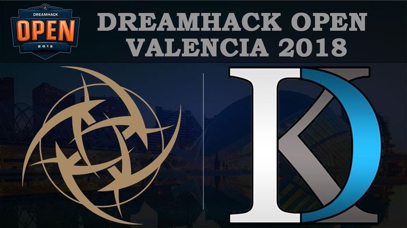 [ENG] NIP vs IDK - Map2 @Border | DreamHack Valencia 2018 (12.07.2018)