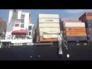 Collision - 19/03/2018 - В порту Карачи, корабль Хапаг-Ллойд-Толтен и корабль в Гамбургском заливе восточной части Тихого океана