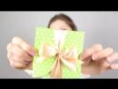 DIY Дизайнерский картон _ Конверт для денег СВОИМИ РУКАМИ _ Мастер класс 🐞 Afin