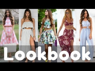 Summer Two Piece Dresses Outfits Lookbook 2018 | Latest Stylish Dress
