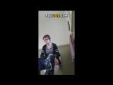 В туалете WC была скрытая камера - видео с сайта piss365 com