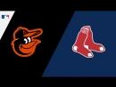 AL 13 04 2018 BAL Orioles @ BOS Red Sox 1 4
