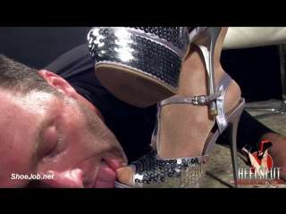 Heel Slut presents Worship My Shiny Silver Stiletto Heels