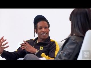 ASAP Rocky о новом альбоме, кумирах, фэшн-индустрии в свежем интервью с переводом QUEENSxPAPALAM NR