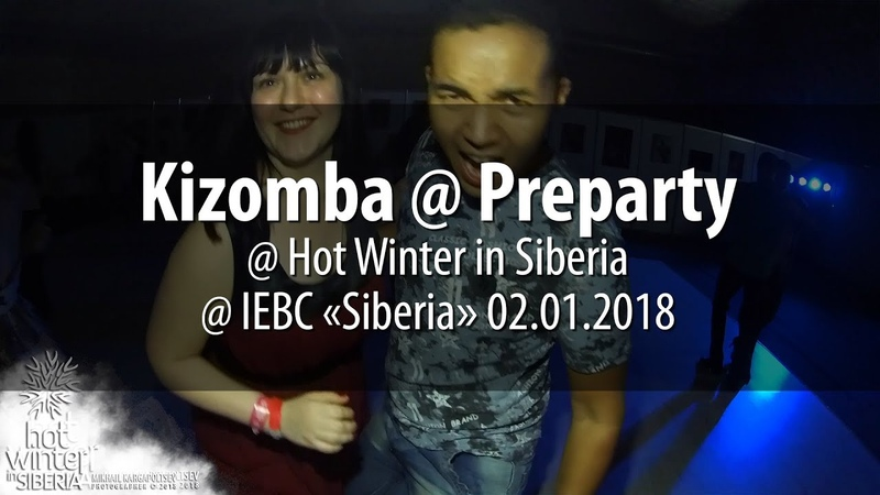 Kizomba @ Preparty @ Hot Winter in Siberia @ IEBC «Siberia» 02.01.2018