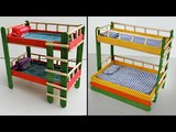 4 Popsicle Stick Bunk Beds Compilation #1 | Easy Craft ideas