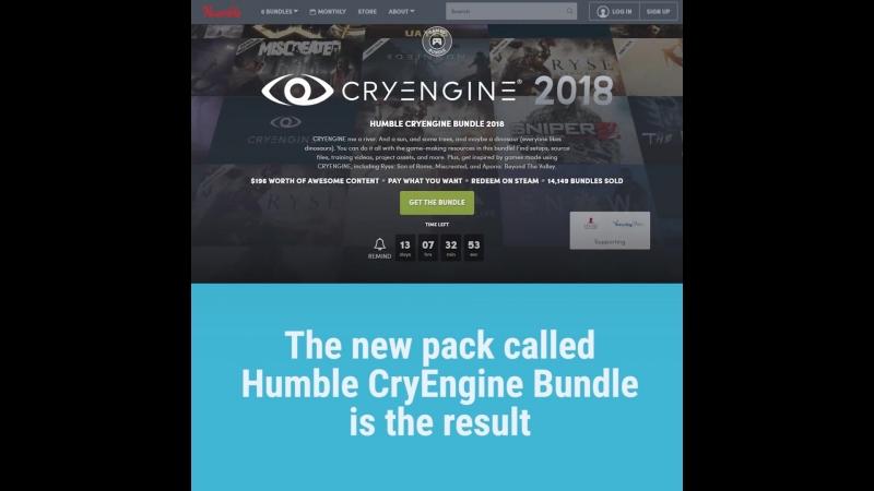 Цифровой магазин Humble Bundle запустил новый пакет предложений