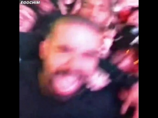 Drake  is a lucky fan