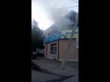 В Нефтекамске в ТЦ Рубин произошел пожар 1 ч.