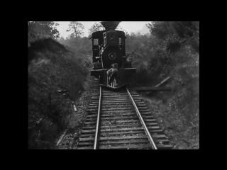 Трюки в кино начала ХХ столетия!