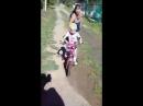 вау! научились кататься на велосипеде июль 2018 года Диана