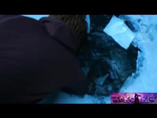 Грустный клип - все кончено. парень спасает девушку из по льда-