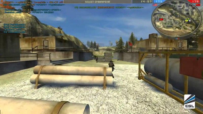 Belarus BF2 Team vs Final Episode    BF2 Infantry 4on4 Spring League 2013