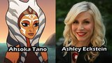 Characters and Voice Actors - Star Wars Forces of Destiny (Vol.4)