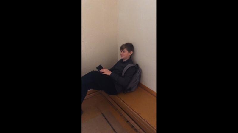 Илья бомжует