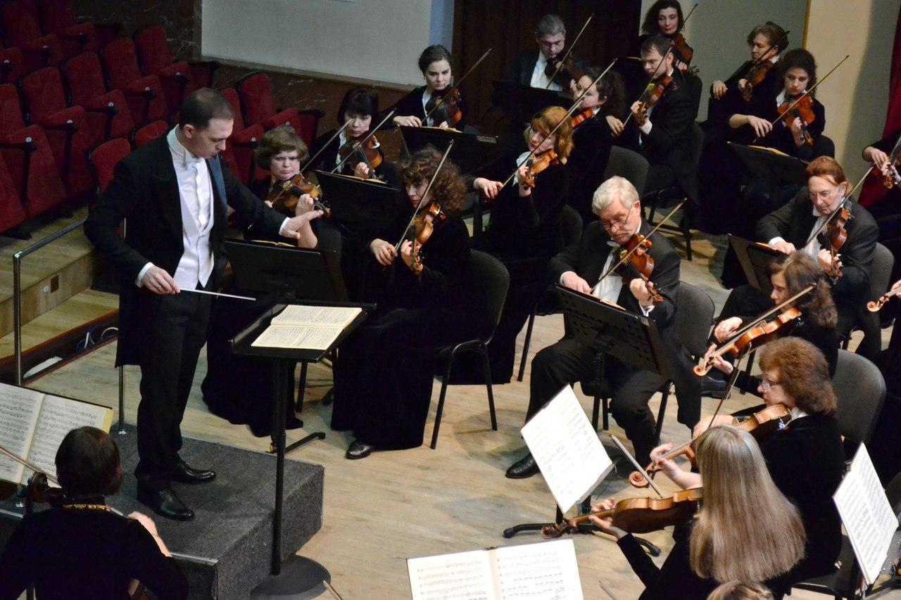 Шедевры европейских классиков прозвучали в филармонии в исполнении симфонического оркестра