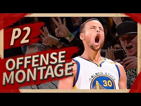 Stephen Curry Offense Highlights Montage 2016/2017 (Part 2) - HUMAN TORCH MODE!