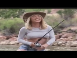 nice girl fishing.mp4