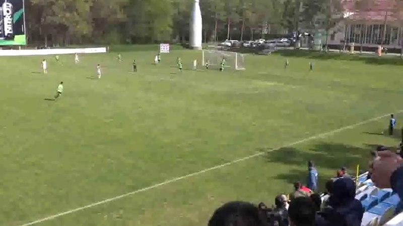 Супер спасение Калыса Акималиева в матче с Алгой